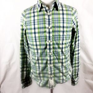 (8-043) Abercrombie & Fitch M Button Down Top